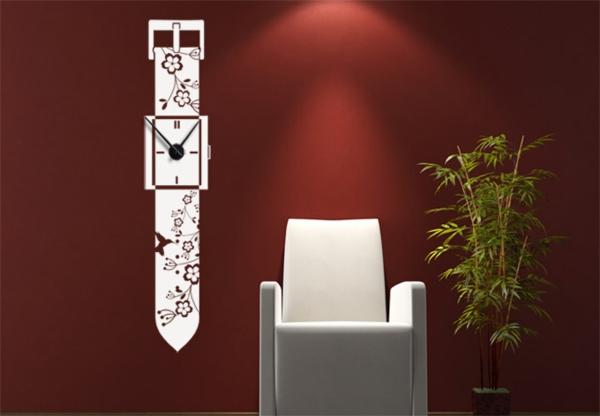 tatoo- Uhren-rot