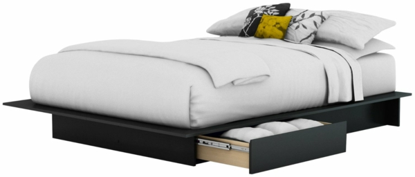 Polster-Doppelbett-modernes-Design