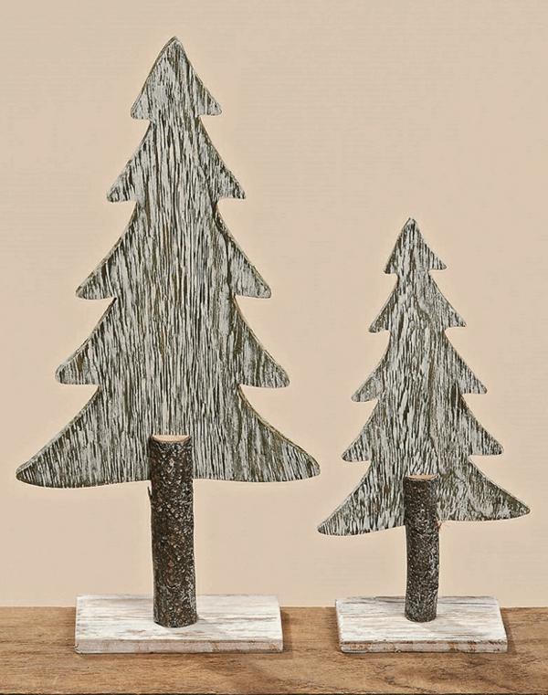 Holzstamm deko f r ihr zuhause for Zimmerdeko weihnachten