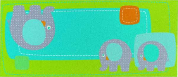 HABA-Teppich-Elephanten