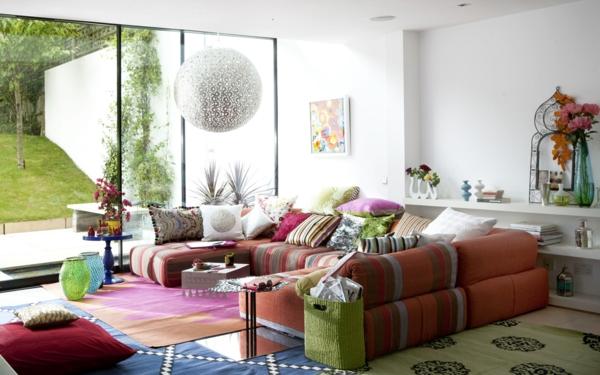 besondere akzente mit den dekokissen 50x50. Black Bedroom Furniture Sets. Home Design Ideas