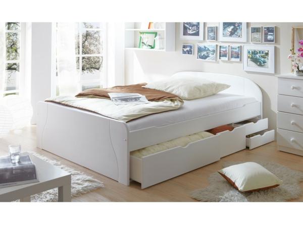 Das Doppelbett mit Schubladen - 25 super Tipps! - Archzine.net