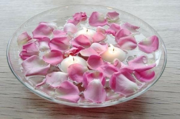 Tischdeko-Blumen