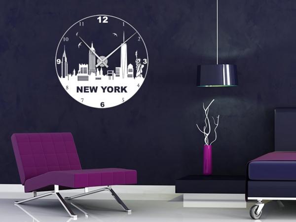 coole wohnzimmer uhren:coole wohnzimmer uhren : Die Wandtattoo Uhren – Spaß und