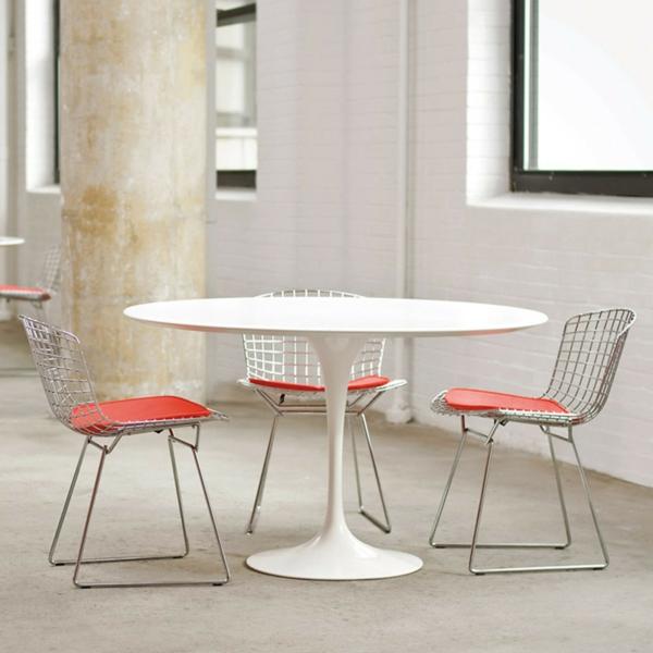 Tulip-Table-retro-einfache-Linien