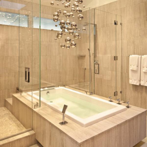 Badewanne mit duschzone tolle beispiele - Badewanne mit integrierter dusche ...