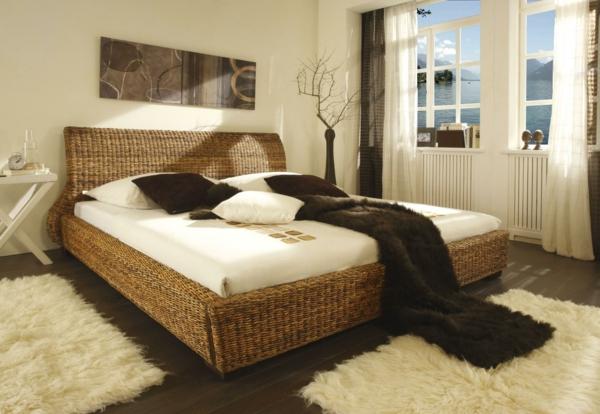tolles-Bett-Bananenblatt-modernes-tropisches-Design
