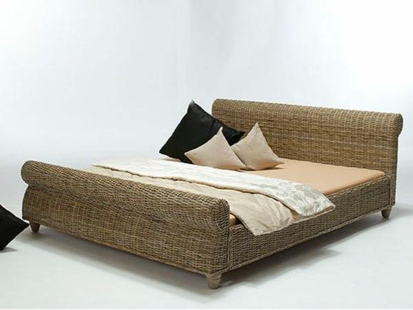 Bett-Bananenblatt-tropisches-Bett-für-das-tropisches-Schlafzimmer