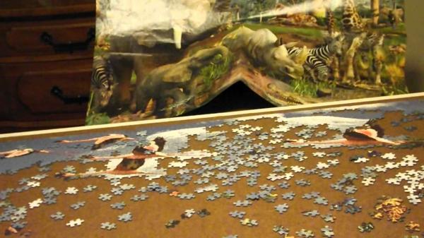 Bilder-puzzle-at-the-watterhole-ravensburger