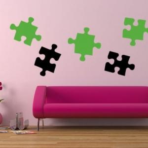 Bilderpuzzle als Wand Deko - die rätselhafte Deko!