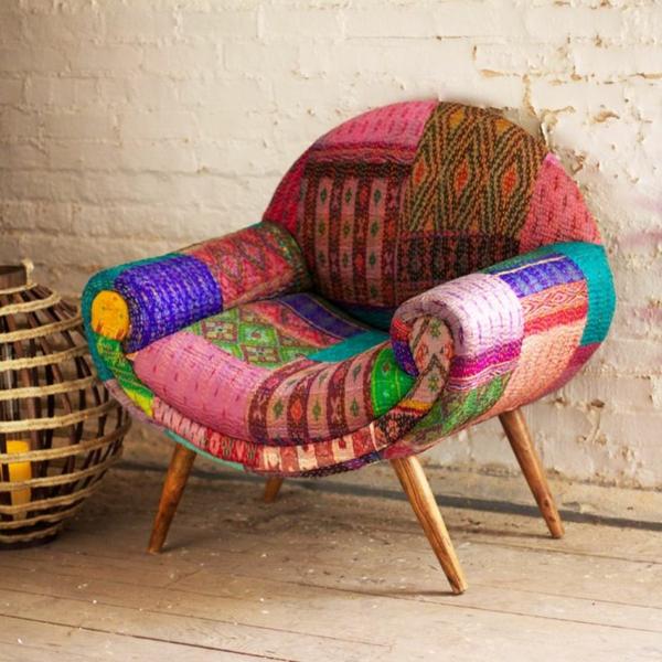 schöner-Bunter-patchwork-Sessel-designidee