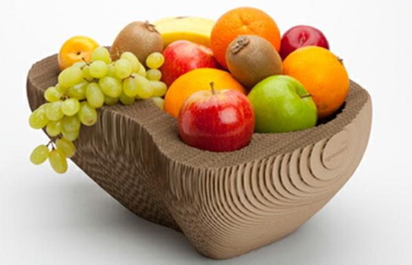 Deko-Obst-Ideen-Früchte-Holzschale