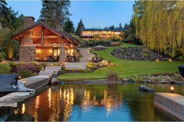 Traumhaus mit garten  Haus mit Garten- erstaunliche Fotos - Archzine.net