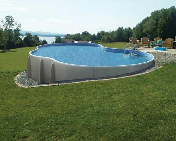 Gestaltungsidee-für-Pool-im-Garten-originelle-Form