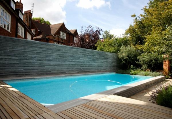 garten mit pool gestalten. Black Bedroom Furniture Sets. Home Design Ideas