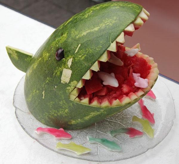 Wassermelone schnitzen - kreative Ideen! - Archzine.net