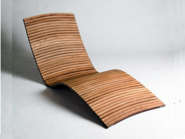 Holz-Lounge-Terrassenmöbel-Designidee