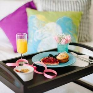 Frühstückstablett fürs Bett - fantastische Ideen!