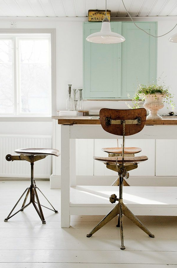 Küchenmöbel-in-Vintage-Stil-Stühle-Ideen
