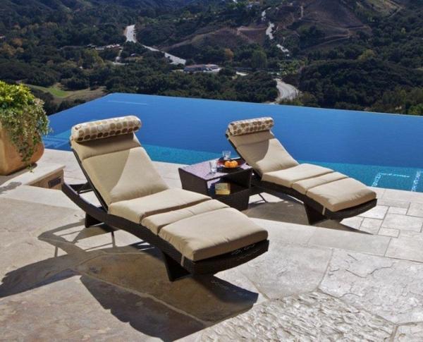Outdoor Lounge Mobel Ideen Totale Entspannung | Lounge Terrassenmobel Zur Vollen Entspannung Archzine Net