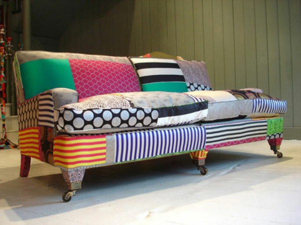 Möbel-Vintage-Retro-Sofa-Patchwork