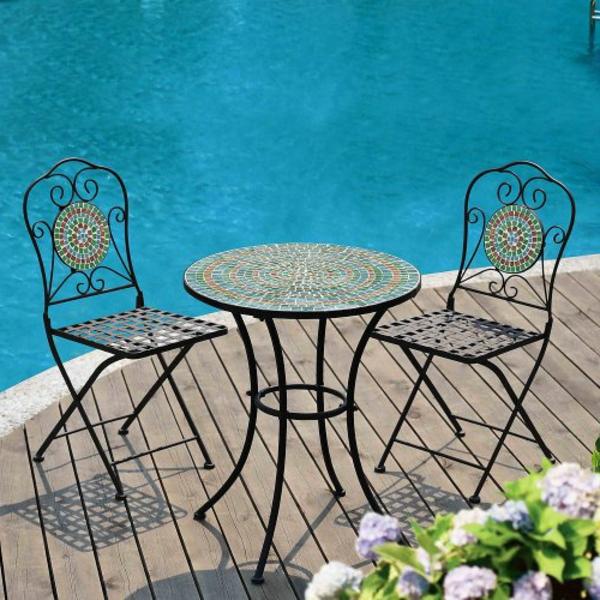 Metall- Gartenstühle-originelles-Design-neu