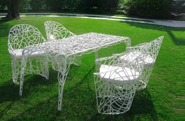 Gartenstühle aus Metall - 33 Vorschläge - Archzine.net