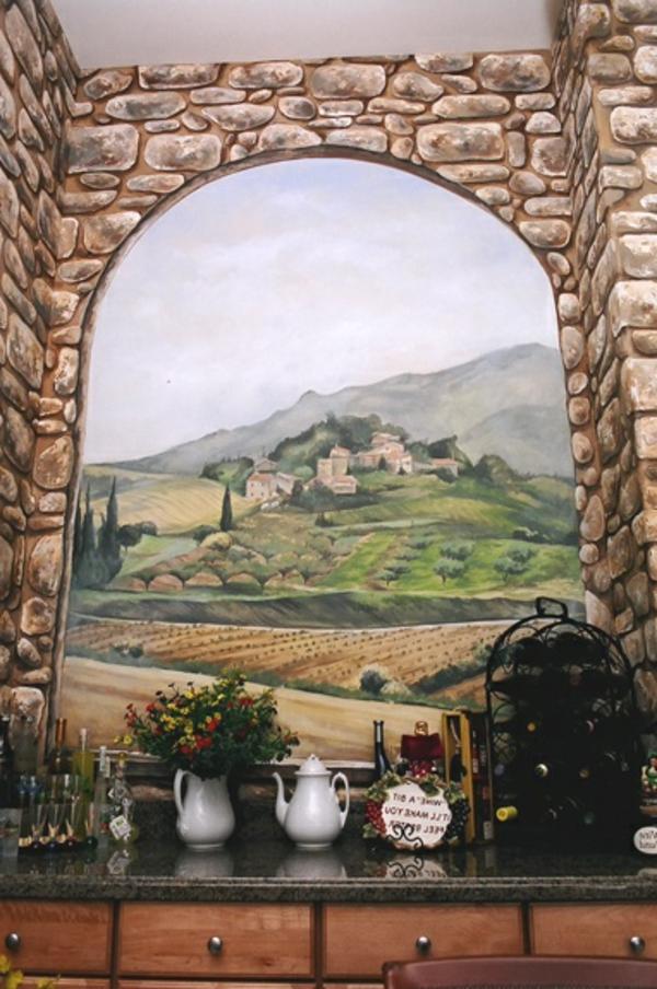 Naturbild-Wandbild-selber-malen