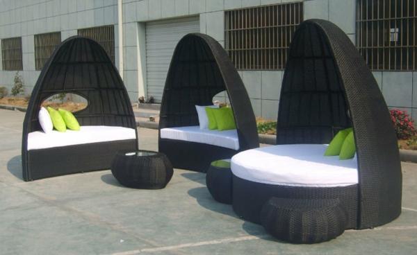 Rattan- Loungemöbel-für-Draußen-wunderbare-Idee