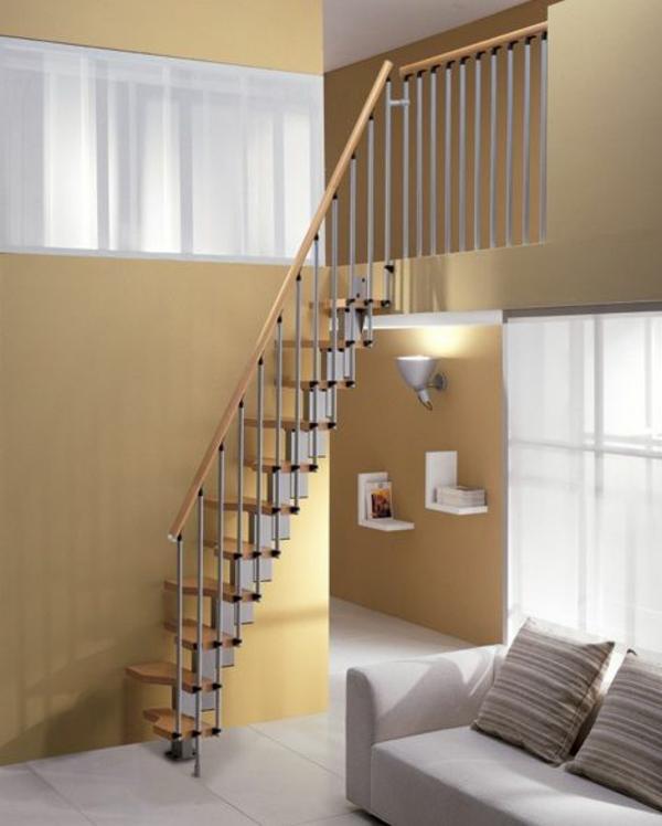 Loft Stairs For Small Spaces: Platzsparende Treppen