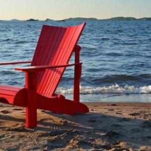 Roter Stuhl - 30 schöne Ideen!