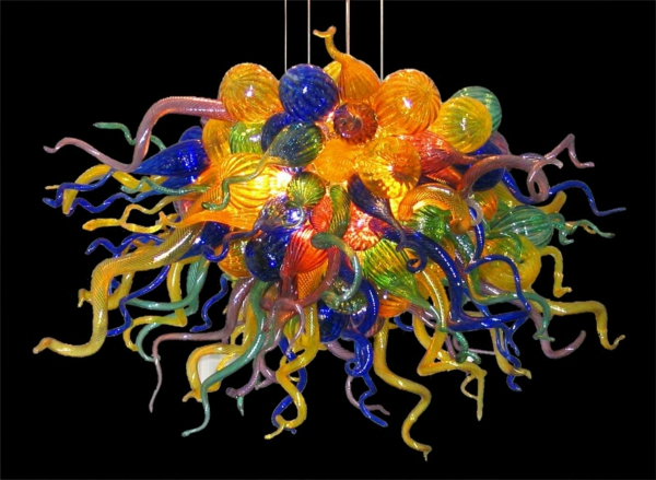 Kronleuchter Murano Glas ~ Floraler kronleuchter aus messing murano glas er bei pamono