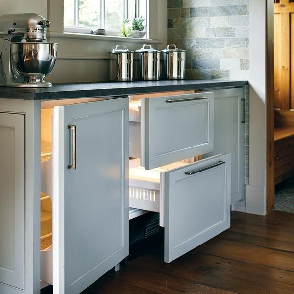 Schubladen-Kühlschrank-für-die-Küche-Designidee