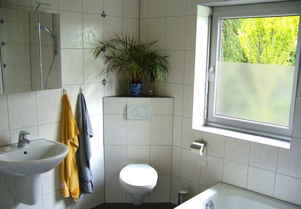 Fenster Bad Undurchsichtig : wunderbare Sichtschutz auf der unteren Seite des Fensters