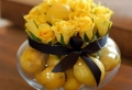 Künstliches Obst als Dekoration