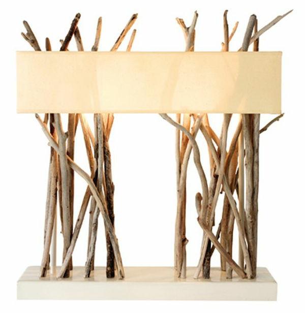 originelle-Tischlampen-Treibholz-originelles-Design