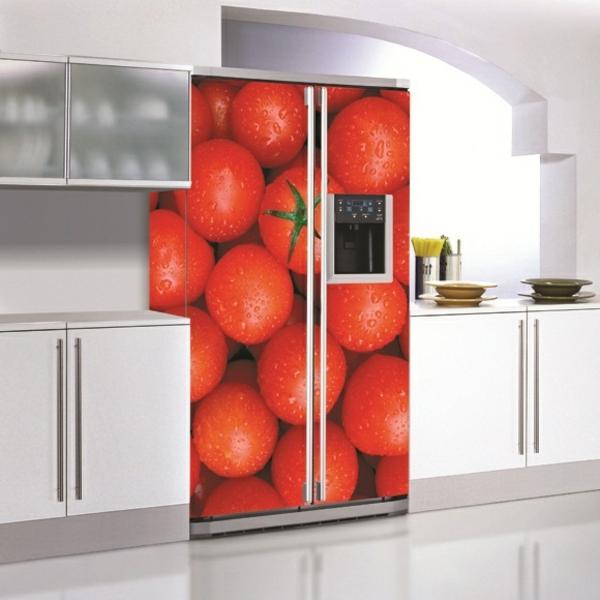 frische-Tomaten-Kühlschrank-Aufkleber
