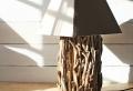 Tischlampe aus Treibholz – originelle Beispiele