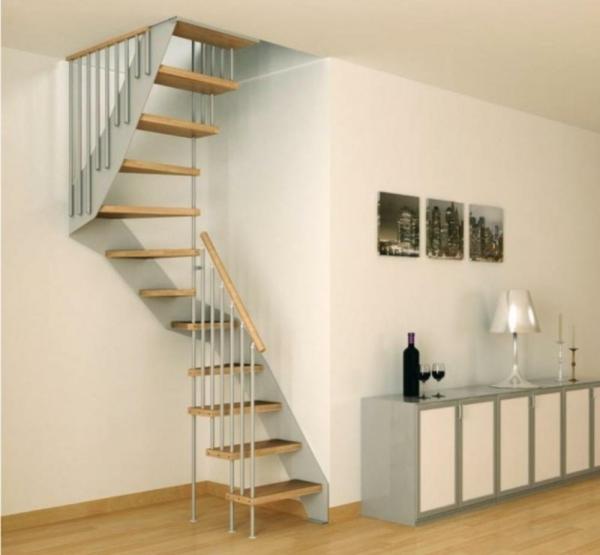 Treppen-Ideens-kleine-Räume-Wohnidee
