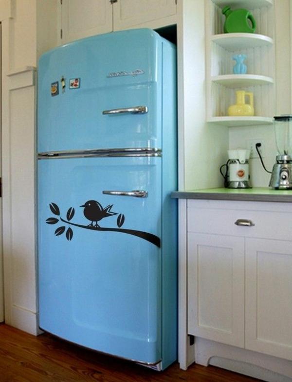 Vogel-auf-einem-Zweig-Kühlschrank-Ideen