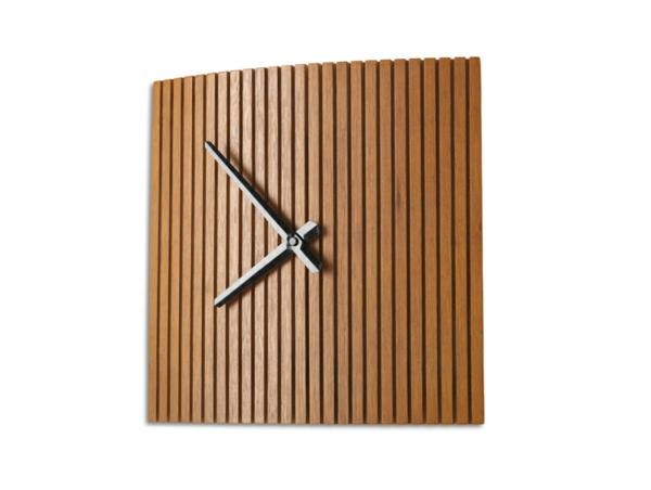 Holzuhr-Wandgestaltung-Idee