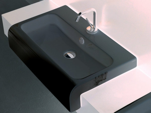waschbecken modernes design. Black Bedroom Furniture Sets. Home Design Ideas