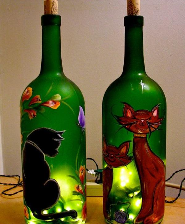Wohnungsgestaltung-Ideen-flaschen
