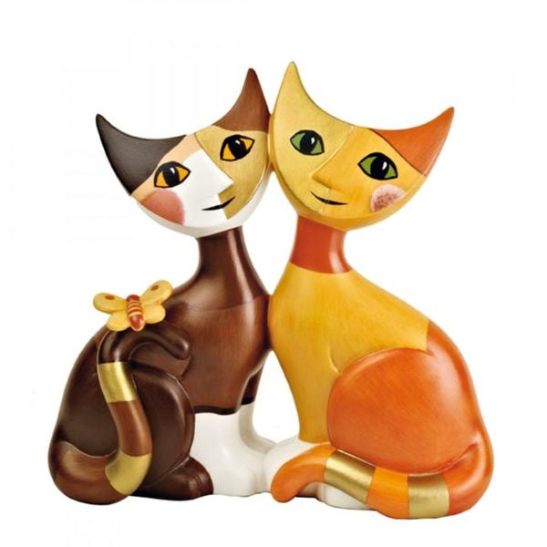 Wohnungsgestaltung-Ideen-katzen-kissen-orange