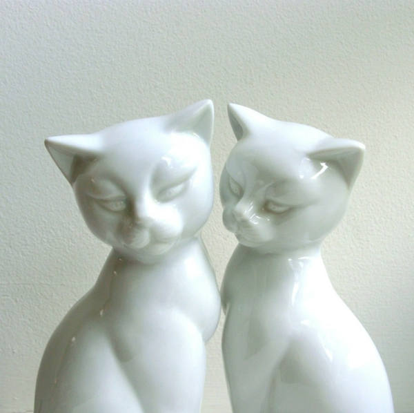 Wohnungsgestaltung-Ideen-weiße-katzen