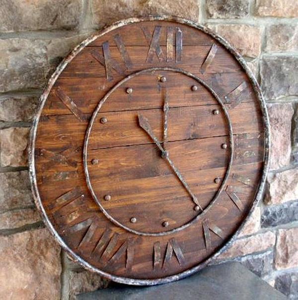 Wohnzimmer Uhren Holz Raiseyourglass