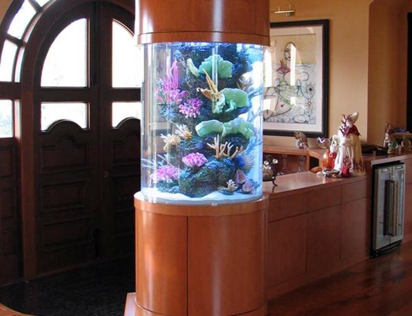 Aquarium Tisch Kreativ Küche