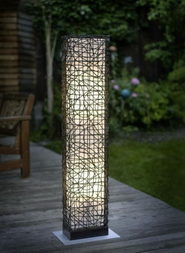 Led gartenleuchte selber bauen wohn design - Aussenbeleuchtungen garten ...