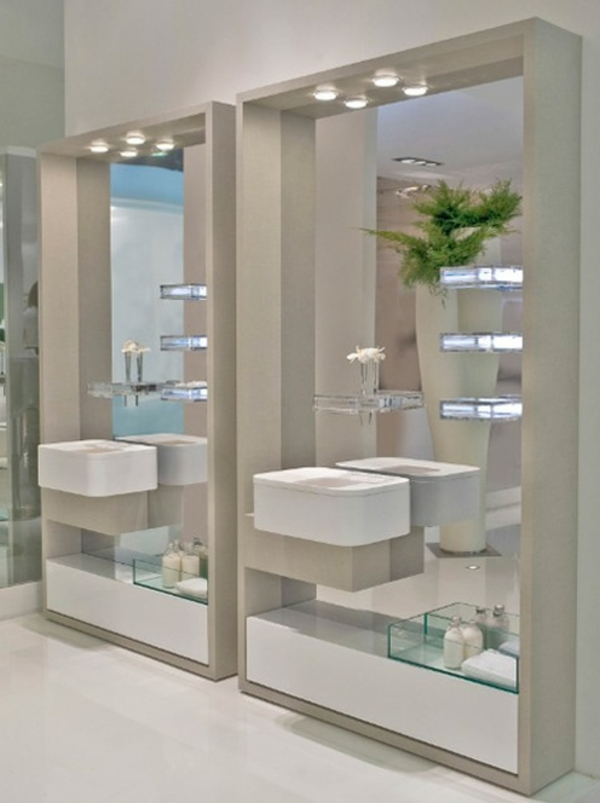 badspiegel mit beleuchtung moderne vorschl ge. Black Bedroom Furniture Sets. Home Design Ideas