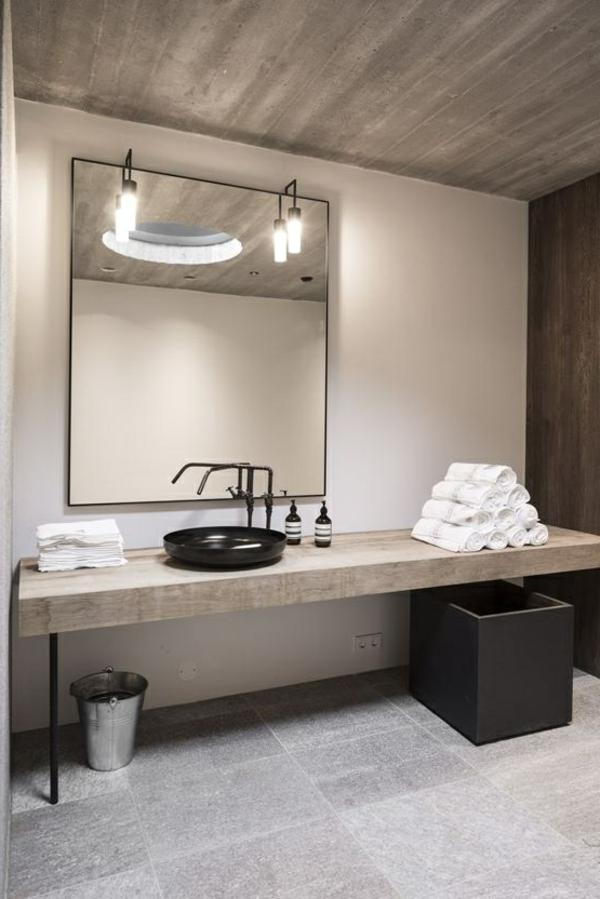Badspiegel mit Beleuchtung - moderne Vorschläge - Archzine.net